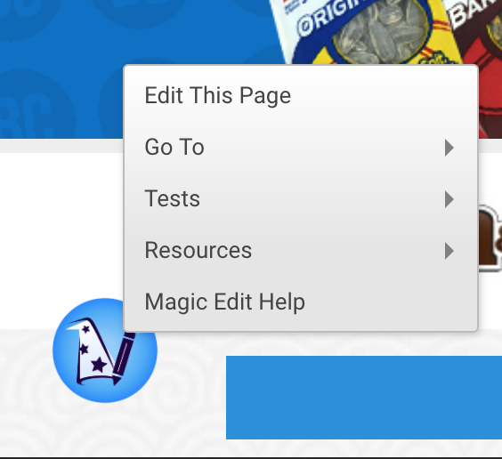Magic Edit for Yahoo! Store